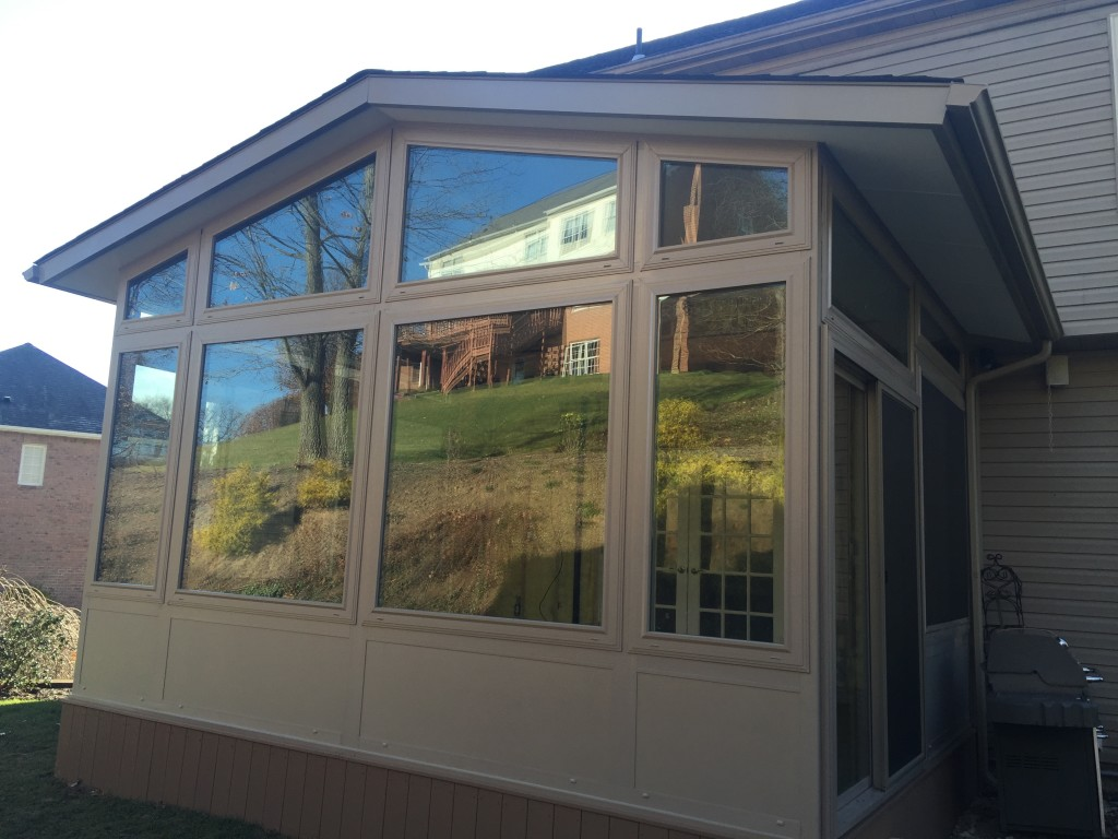 Pro home sunroom of pittsburgh can build a gable style for House sunroom
