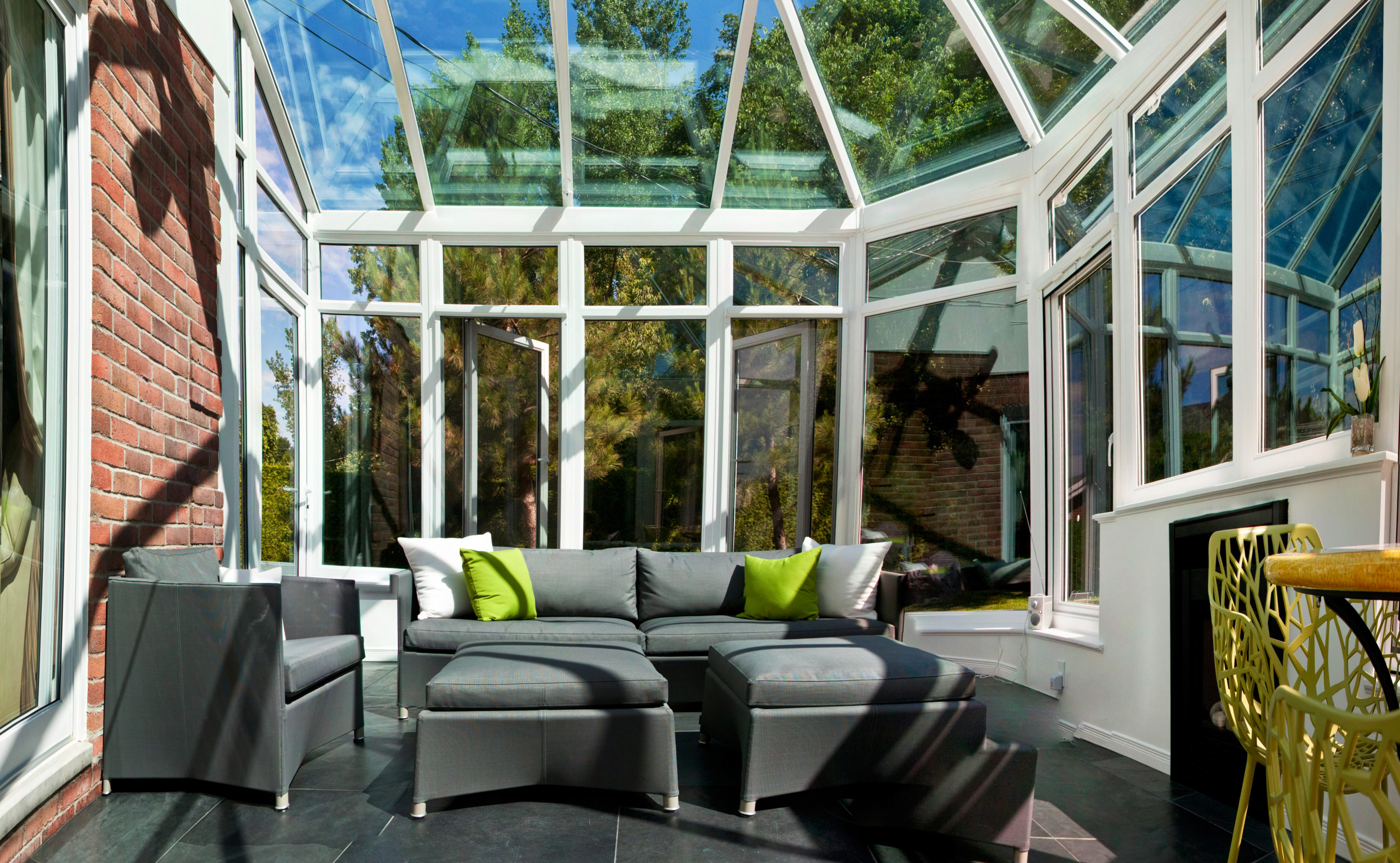 Conservatory sunroom addition in Pittsburgh